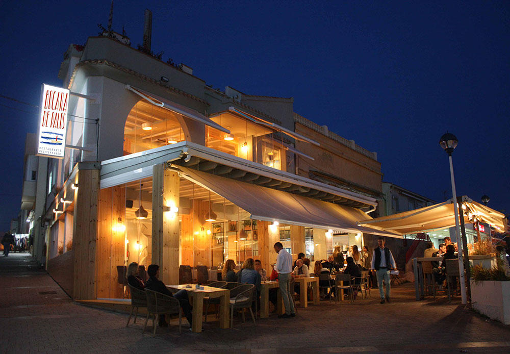Restaurante bocana de palos - cabo de palos - la manga del mar menor- mangawik