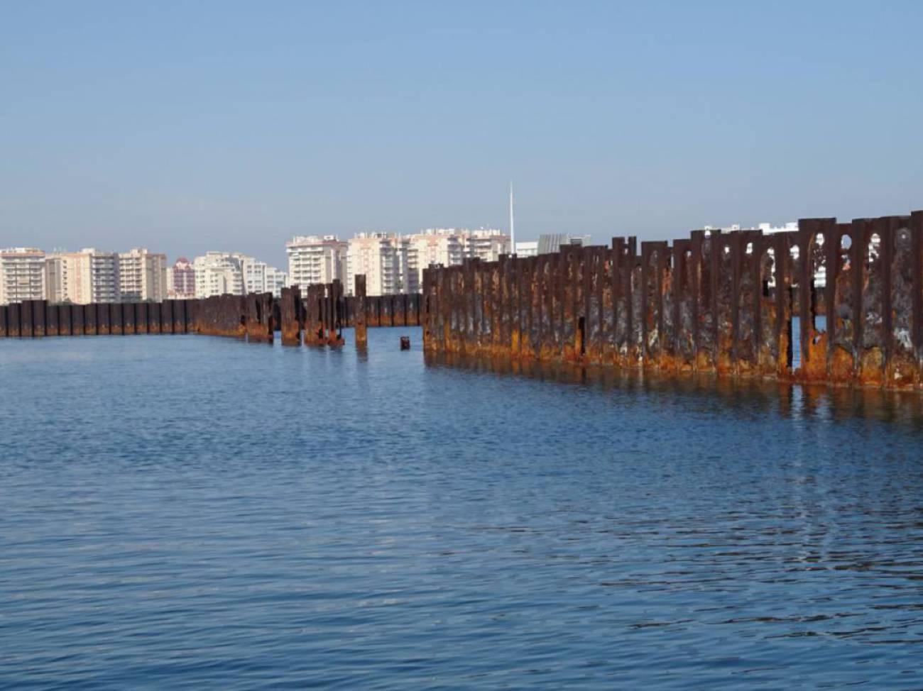 Puerto Mayor tiene dos meses para retirar las pantallas de acero